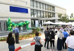 Inauguration ceremony in the newly renovated Ullmann Building of Life Sciences // Nov 12, 2019 picture no. 10