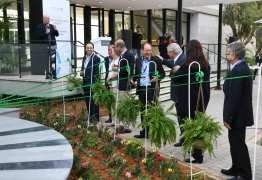 Inauguration ceremony in the newly renovated Ullmann Building of Life Sciences // Nov 12, 2019 picture no. 23